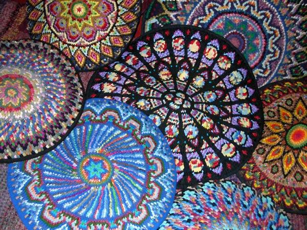 Mandalas Aus Russland Teppich Art