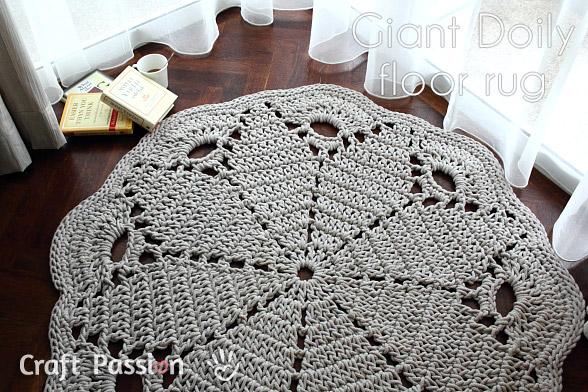 Sehr Teppich aus Baumwollseil mit Anleitung | Teppich-Art TN76