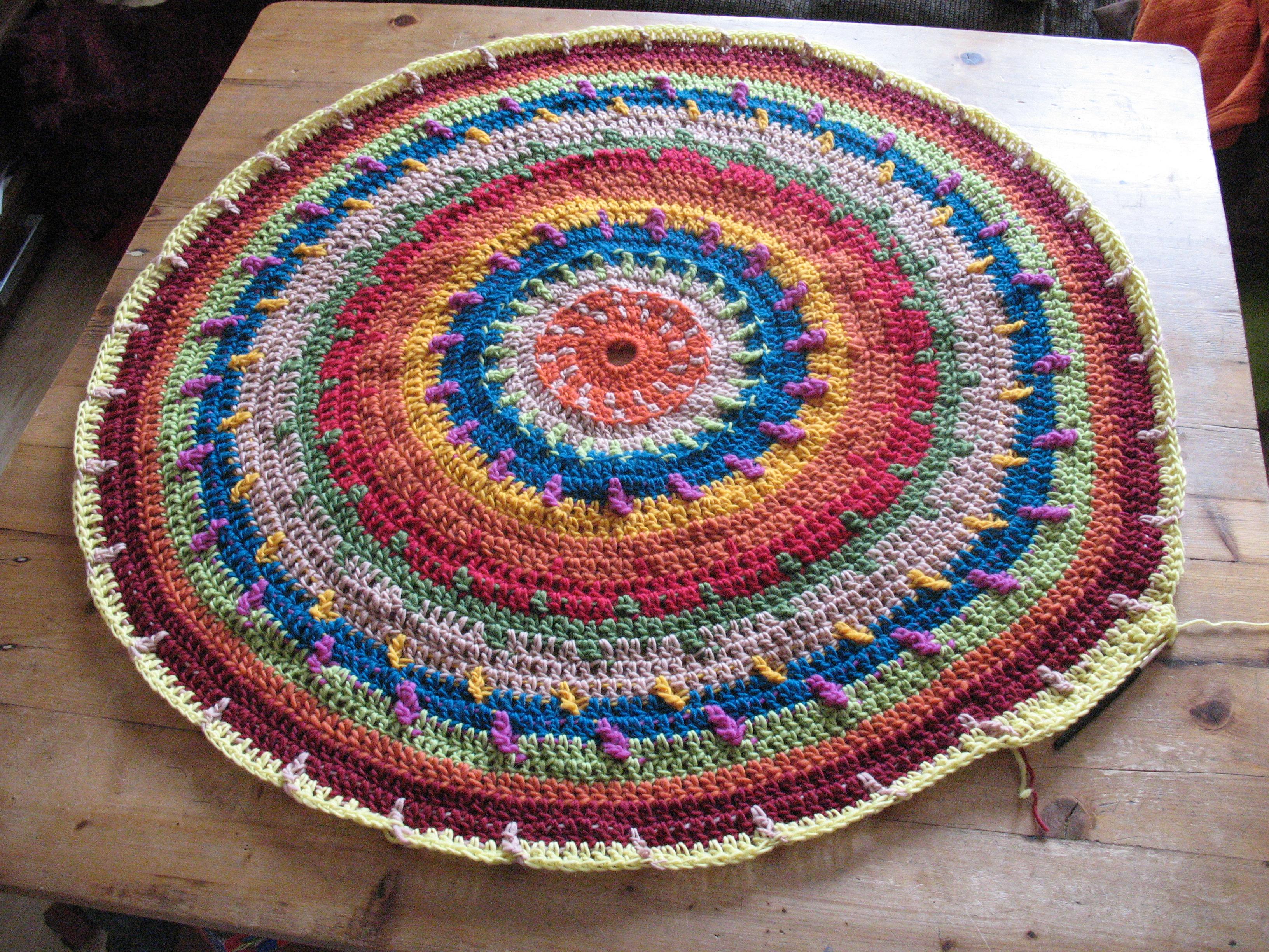 Häkelteppich  TeppichArt